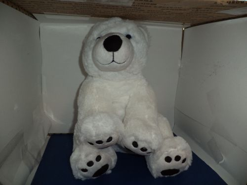 Plush White Polar Bear 2013 BAB