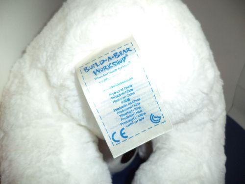Plush White Polar Bear 2013 BAB