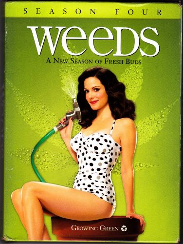 Weeds - Complete Season 4 DVD 2009 3-Disc Set - Very Good