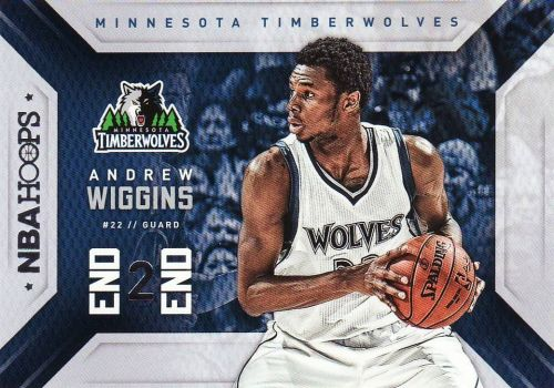 2015-16 Hoops End 2 End #14 - Andrew Wiggins - Timberwolves