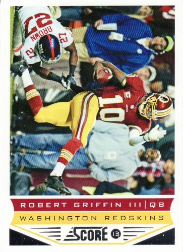 2013 Score #214 - Robert Griffin III - Redskins