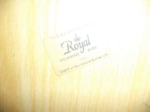 Vintage Englands Heritage British Made Royal Melamine ServingTray