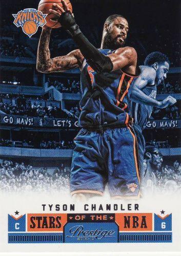 2012-13 Prestige Stars Of The NBA #11 - Tyson Chandler - Knicks