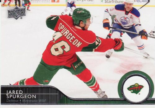 2014-15 Upper Deck #98 - Jared Spurgeon - Wild