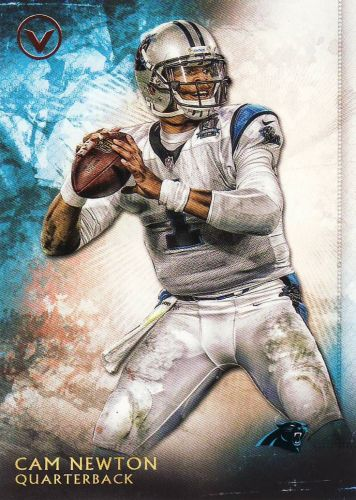 2015 Topps Valor #24 - Cam Newton - Panthers