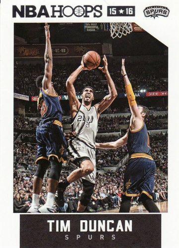 2015-16 Hoops #60 - Tim Duncan - Spurs