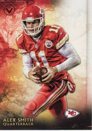 2015 Topps Valor #36 - Alex Smith - Chiefs