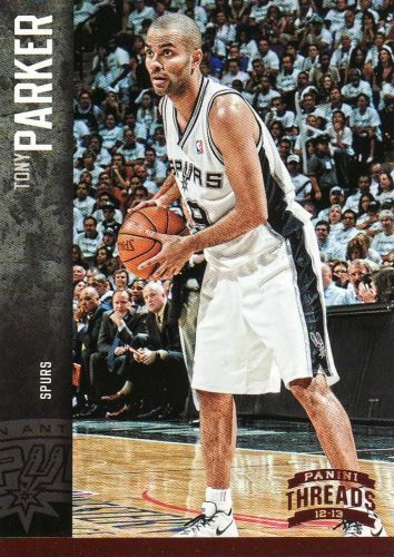 2012-13 Panini Threads #128 - Tony Parker - Spurs