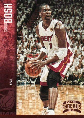 2012-13 Panini Threads #77 - Chris Bosh - Heat