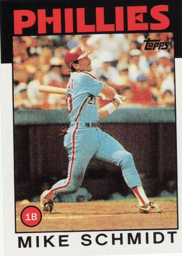 2010 Topps Card Your Mom Threw Out #CMT93 - Mike Schmidt - Phillies