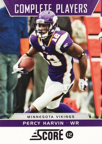 2012 Score Complete Players #4 - Percy Harvin - Vikings