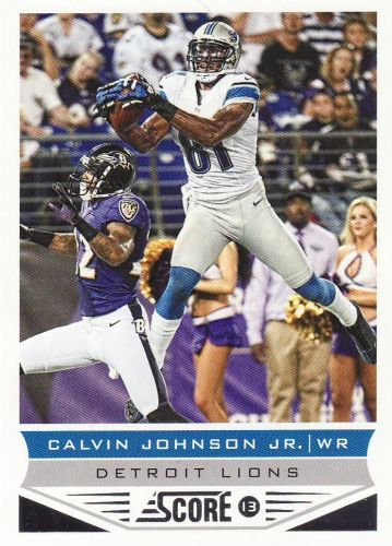 2013 Score #69 - Calvin Johnson - Lions