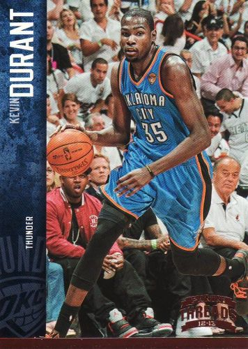 2012-13 Panini Threads #98 - Kevin Durant - Thunder