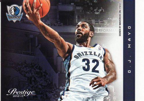 2012-13 Prestige #99 - O.J. Mayo - Mavericks