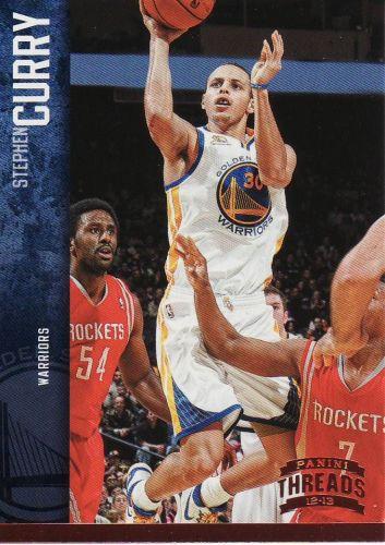 2012-13 Panini Threads #41 - Stephen Curry - Warriors