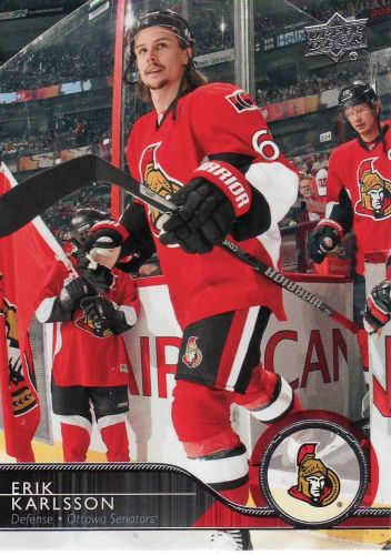 2014-15 Upper Deck #133 - Erik Karlsson - Senators