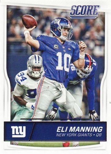 2016 Score #209 - Eli Manning - Giants