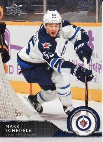2014-15 Upper Deck #196 - Mark Scheifele - Jets