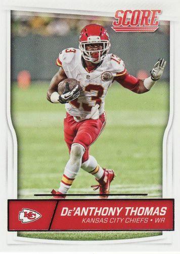 2016 Score #164 - De'Anthony Thomas - Chiefs