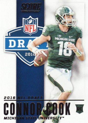 2016 Score NFL Draft #3 - Connor Cook - Raiders