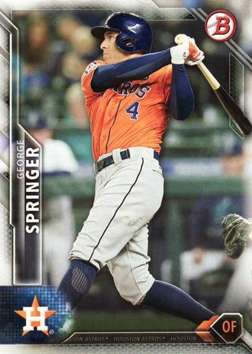 2016 Bowman #36 - George Springer - Astros