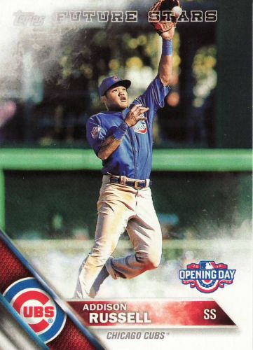 2016 Topps Opening Day #OD121 - Addison Russell - Cubs
