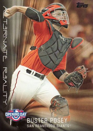 2016 Topps Opening Day Alternate Reality #AR13 - Buster Posey - Giants