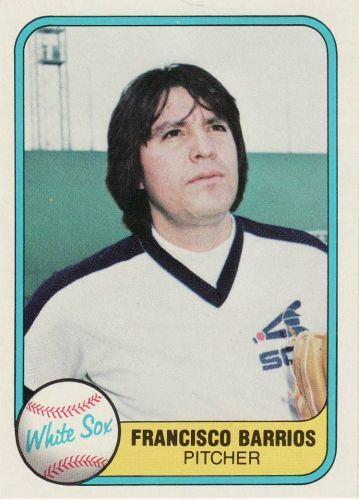 1981 Fleer #352 - Francisco Barrios - White Sox