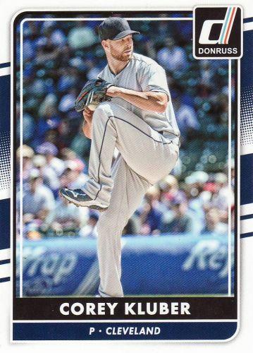 2016 Donruss #123 - Corey Kluber - Indians