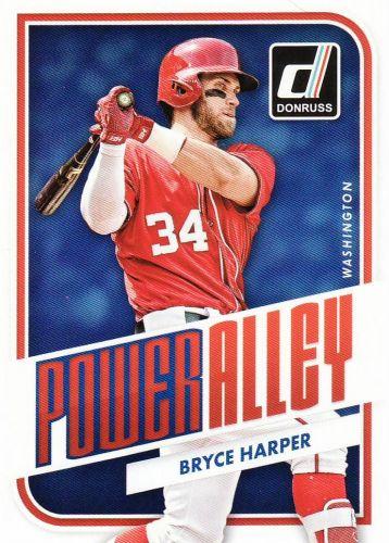 2016 Donruss Power Alley #1 - Bryce Harper - Nationals