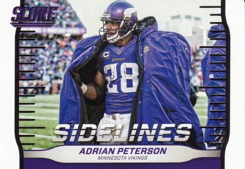 2016 Score Sidelines #3 - Adrian Peterson - Vikings