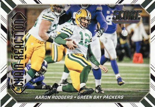2016 Score Chain Reaction #2 - Aaron Rodgers - Packers