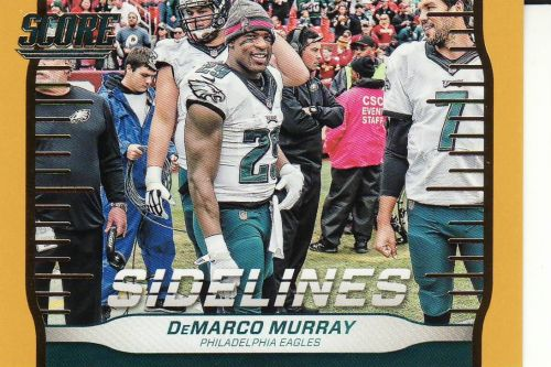 2016 Score Sidelines Gold #14 - DeMarco Murray - Eagles