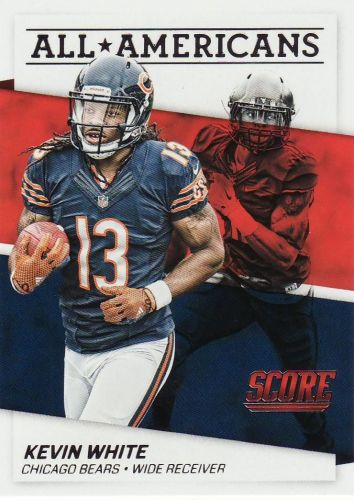2016 Score All Americans #5 - Kevin White - Bears