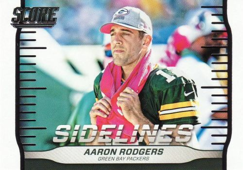 2016 Score Sidelines #5 - Aaron Rodgers - Packers