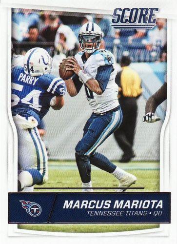 2016 Score #311 Marcus Mariota - Titans