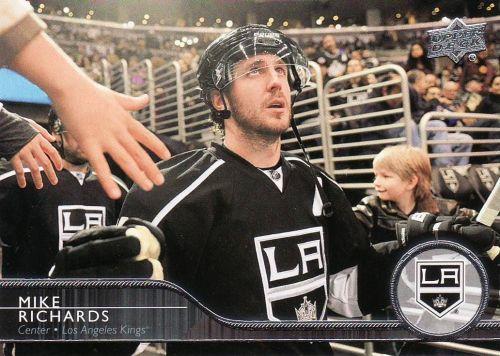 2014-15 Upper Deck #86 - Mike Richards - Kings
