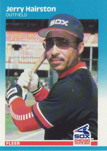 1987 Fleer #498 - Jerry Hairston - White Sox