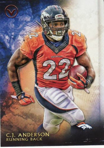 2015 Topps Valor #115 - C.J. Anderson - Broncos