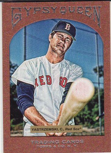 2011 Gypsy Queen Framed Paper #73 - Carl Yastrzemski - Red Sox
