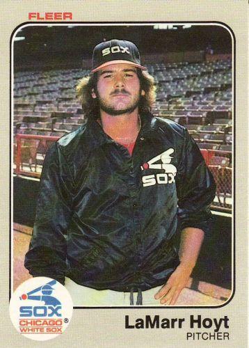 1983 Fleer #238 - LaMarr Hoyt - White Sox
