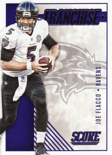 2016 Score Franchise #5 - Joe Flacco - Ravens