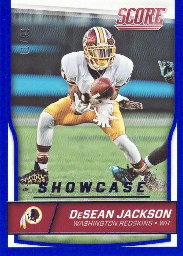 2016 Score Showcase #328 - DeSean Jackson - Redskins