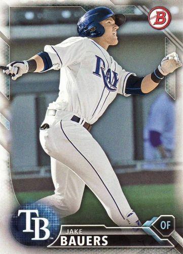 2016 Bowman Prospects #BP131 - Jake Bauers - Rays