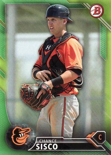 2016 Bowman Prospects Green #BP114 - Chance Sisco - Orioles