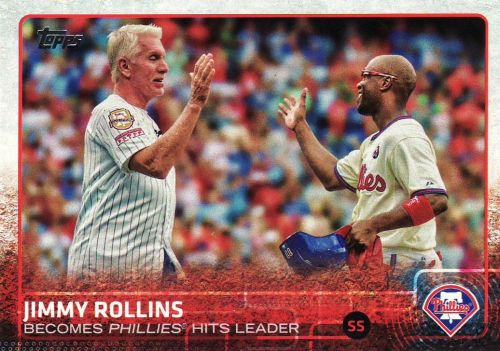 2015 Topps #659 - Jimmy Rollins - Phillies