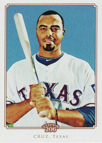 2010 Topps 206 #130 - Nelson Cruz - Rangers