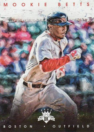 2016 Diamond Kings #92 - Mookie Betts - Red Sox
