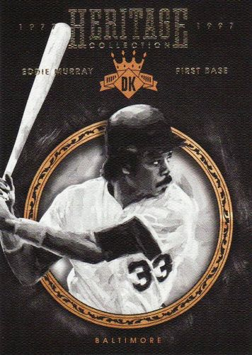2016 Diamond Kings Heritage Collection #HC16 - Eddie Murray - Orioles