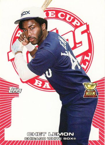 2005 Topps Rookie Cup Red #37 - Chet Lemon - White Sox